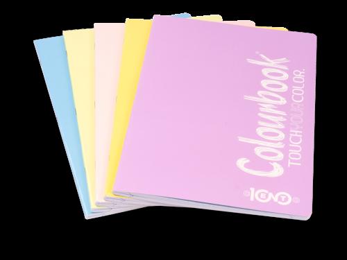 Quaderni Maxi Touch Pastel Colourbook