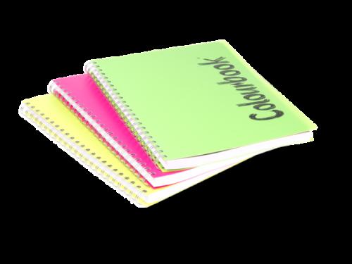 Quaderno Maxi Spiralato da 150 Fogli con Separatore Colourbook