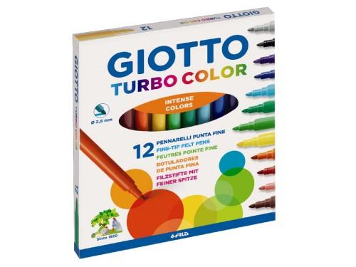 Pennarelli Turbo Color 12 pz