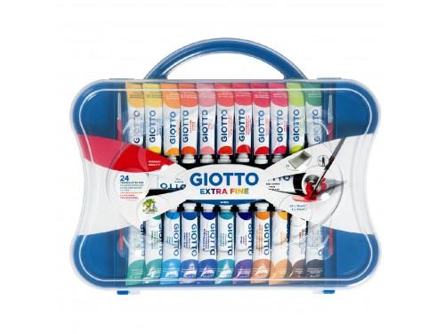 Tempera Giotto 24 colori 12 ml.
