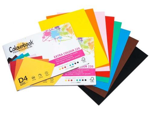 Blocco Extra Color 24x33 fogli colorati