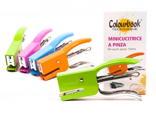 Mini cucitrice a pinza Colourbook passo 10 mm