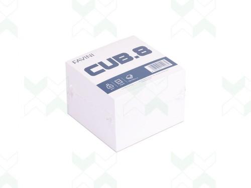 Cubo bianco appunti 9x9 700 fogli Favini