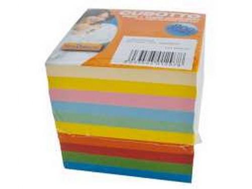Cubo colorato appunti 9x9 800 fogli