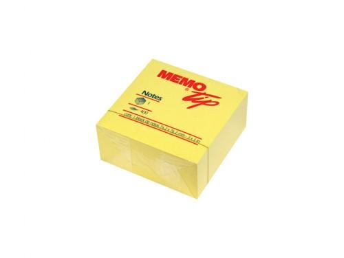Cubo Memo adesivo 76x76 400 fogli Giallo