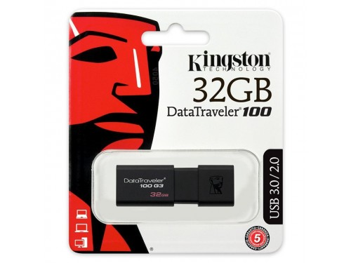 Pendrive Kingston USB 3.0 Chiavetta da 32GB DT100G3/32GB