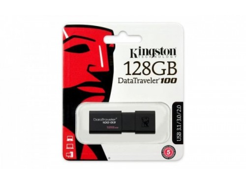 Pendrive Kingston USB 3.0 Chiavetta da 128GB DT100G3/128GB