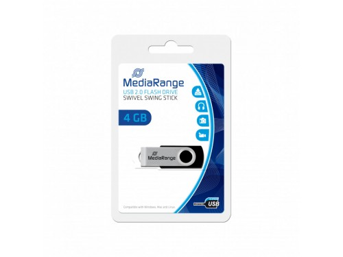 Chiavetta Mediarange USB 2.0 4GB MR907