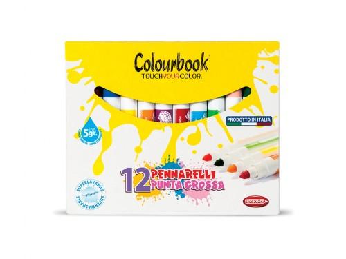 Pennarelli colorati Punta Grossa Colourbook