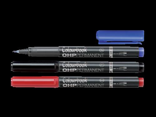 Pennarelli OHP Permanent Colourbook